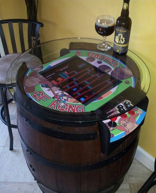 arcade design nerdgasm DIY video games funny - 7582520576