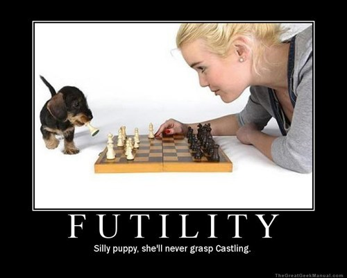 tacticians puppy futility chess funny