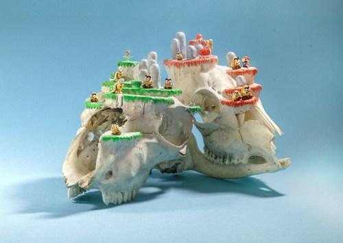 wtf creepy super mario skulls funny - 7582545664