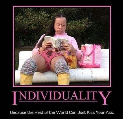 wtf individuality funny - 7582546176