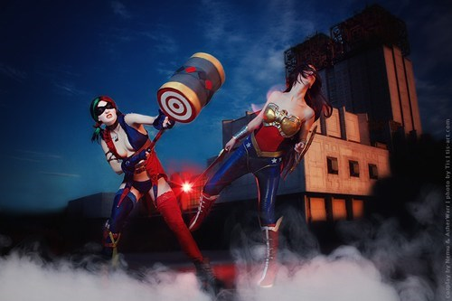 cosplay DC superheroes - 7582550784