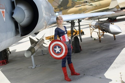 cosplay crossplay captain america - 7582667776