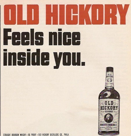 whiskey old hickory ads funny - 7582829824