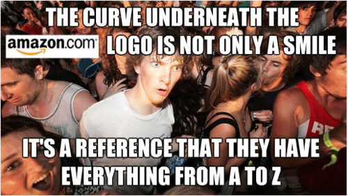 amazon,logos,Memes,sudden clarity clarence
