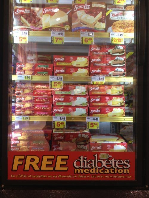 insulin,diabetes,sara lee,monday thru friday,g rated
