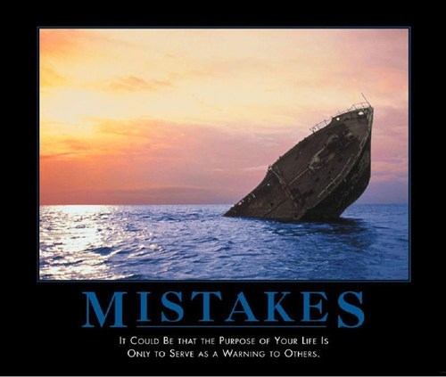 mistakes purpose funny boats