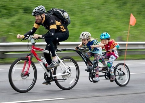 parenting bicycling funny - 7583049728