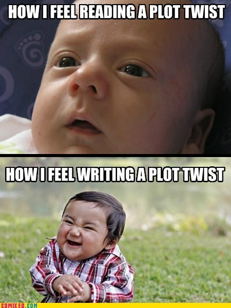 Babies kids plot twists emotions funny