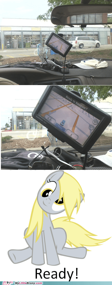 gps,IRL,derpy hooves,driving
