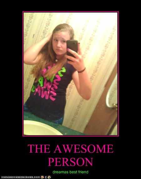 THE AWESOME PERSON