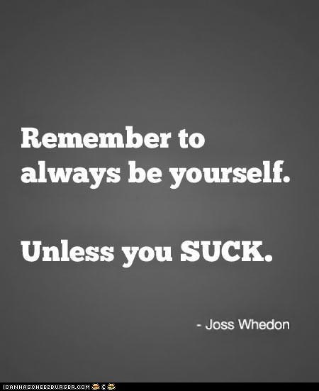 Don't suck