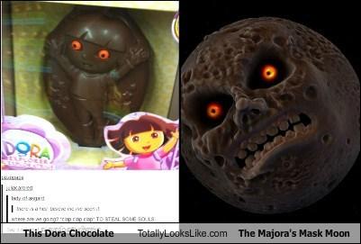 moon totally looks like chocolate funny - 7584369408