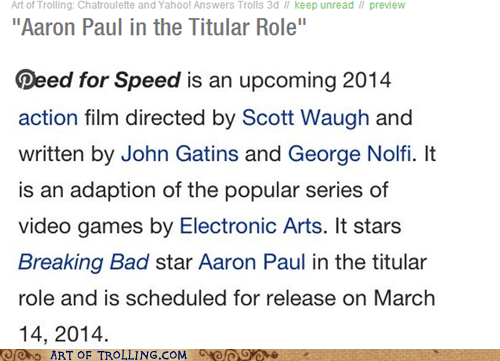 aaron paul,pinterest,need for speed