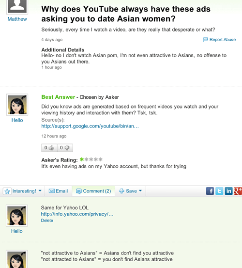ouch yahoo answers genius funny - 7585751296