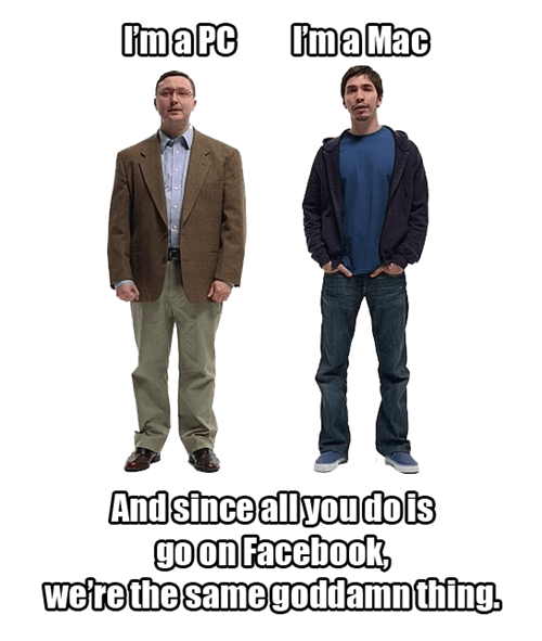 laptops,computers,i'm a mac,PC,i'm a pc,windows,John Hodgman,microsoft,justin long,apple,mac ad,failbook