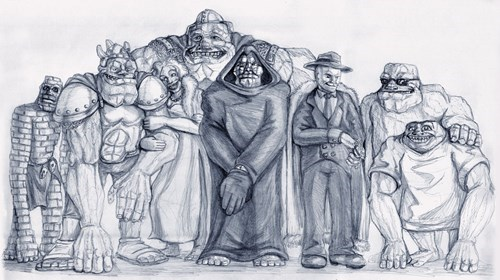 The Trolls of Discworld