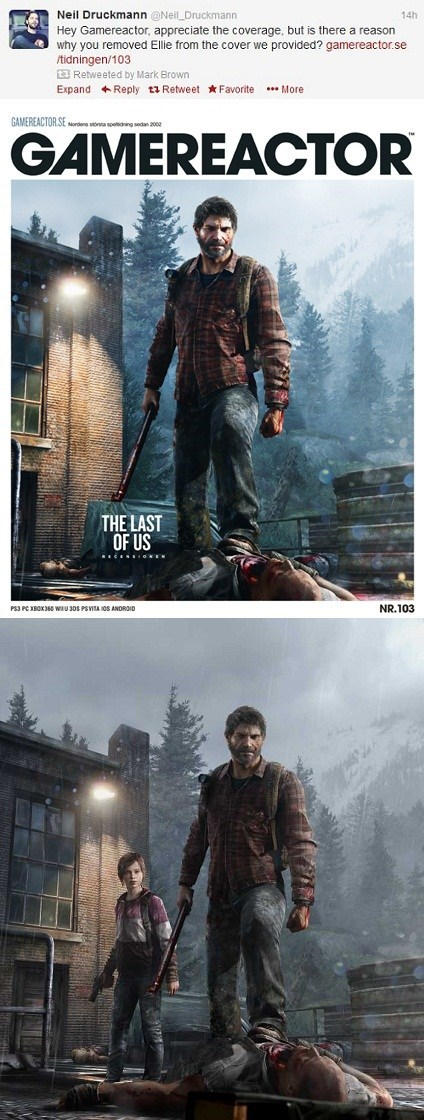 gamereactor news naughty dog the last of us video games Video Game Coverage