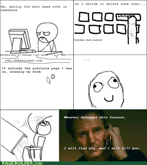 taken backspace liam neeson making rage comics - 7586237440