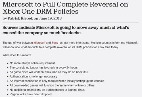 news microsoft xbox one Video Game Coverage - 7586264064