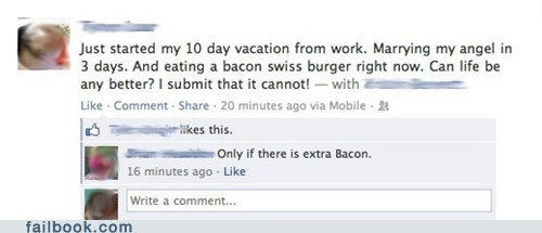 marriage,wedding,bacon