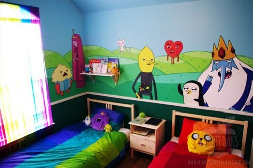 This Kid's Room Just Got WAY Mathematical