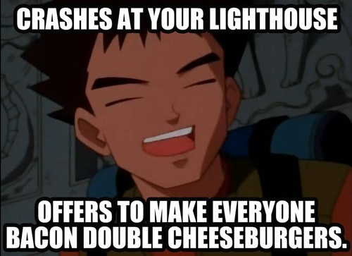 brock anime good guy - 7586418432