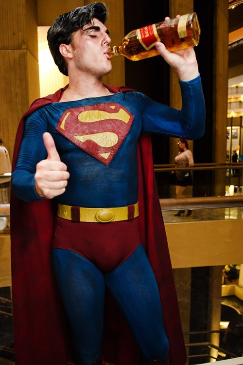 whiskey costume funny superman - 7586470400