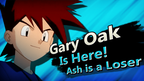 super smash bros,gary oak,nintendo