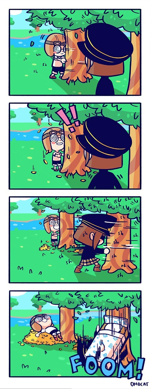 comics animal crossing video game logic - 7586653696