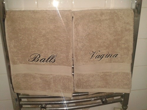 towels his and hers funny men vs women dating - 7586736896