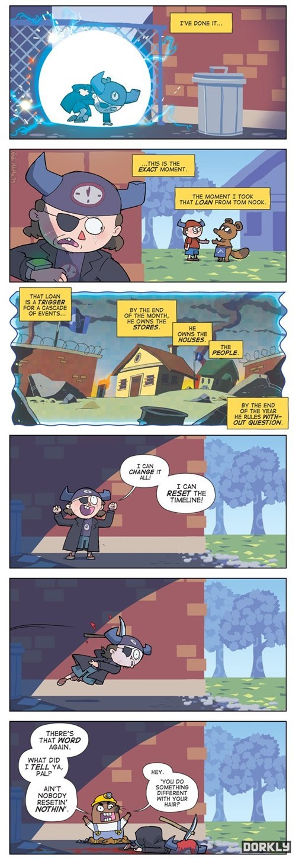 dorkly comics mr-resetti animal crossing video games - 7586737152