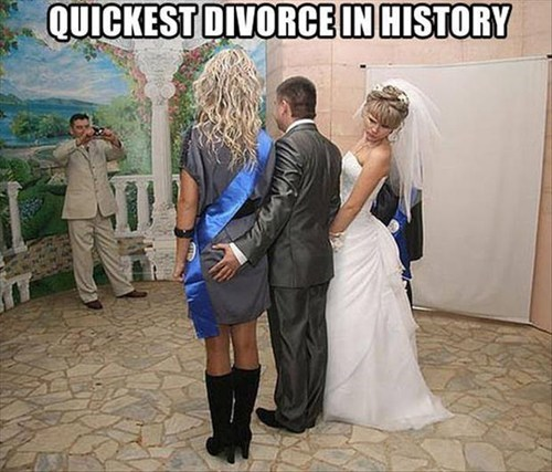 divorce weddings funny - 7586747392