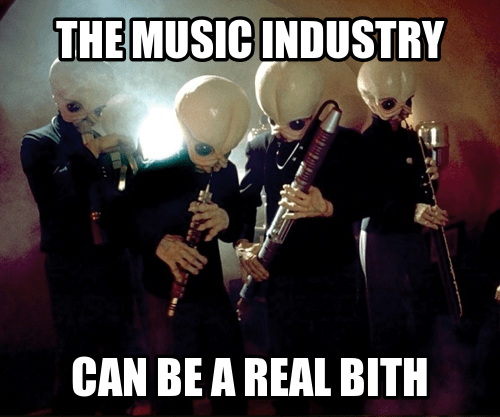 Music,star wars,bith,puns,funny