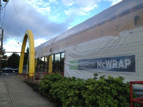mcdonalds-wrap plastic sheeting funny there I fixed it g rated