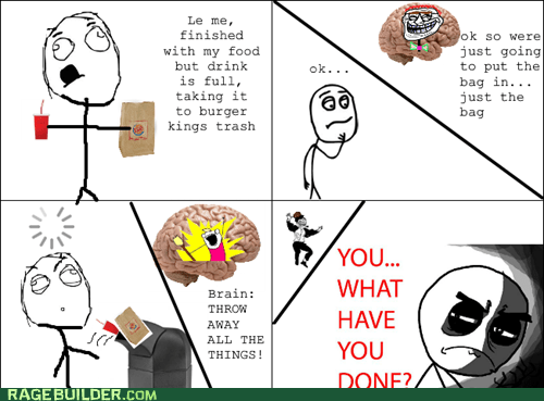 scumbag brain,food,burger king