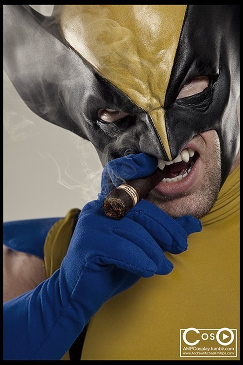 awesome costume wolverine funny - 7587376640