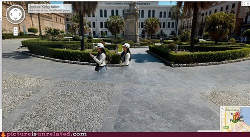 wtf Italy ghosts google street view funny