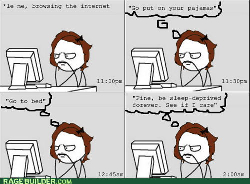 browsing staying up late internet late nights computer girl - 7587537408
