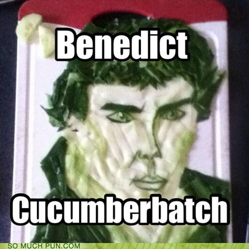 benedict cumberbatch puns cucumbers funny - 7587711488