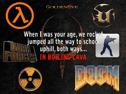 doom,quake,nostaliga,DLC,video games,counter strike,unreal tournament