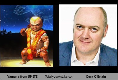 vamana eyes totally looks like dara o'briain funny