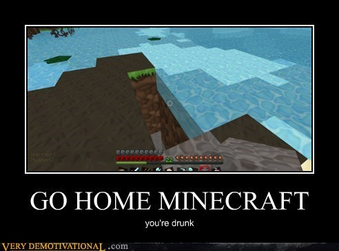 physics,drunk,water,minecraft