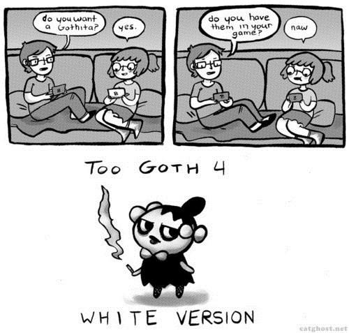 goth Pokémon comics gothita - 7588816640