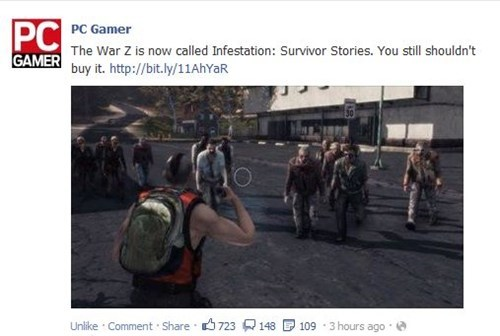 pcs,War Z,pc gamer,bad games,Video Game Coverage