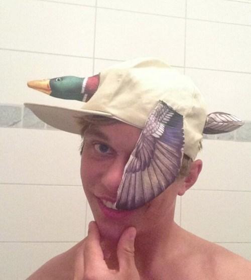 ducks stupid hats funny - 7588843776