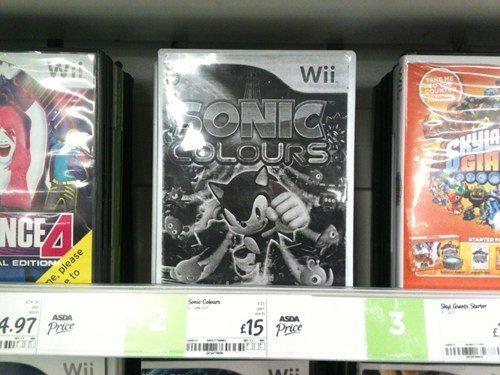sonic colours IRL video games wii sonic - 7588850688