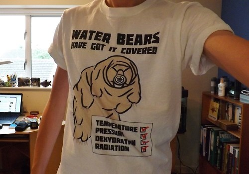 tardigrades,T.Shirt,water bear,science,funny
