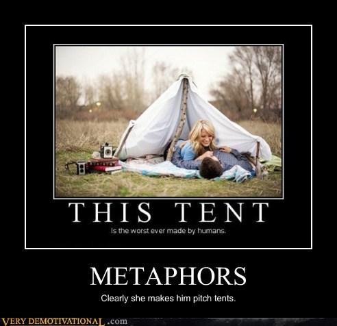metaphors tent idiots funny - 7588995328
