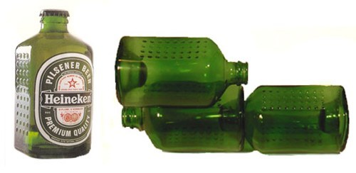 green beer physics science bottles
