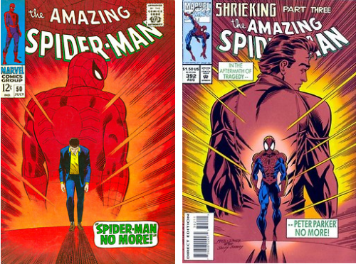 peter parker Spider-Man off the page funny - 7589084160